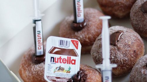 Nutella Donut Box
